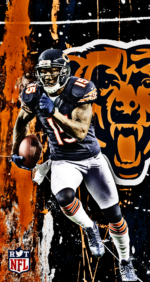 Nfl iphone wallpapers hdr sports - Chicago bears phone wallpaper ...