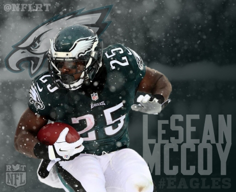Philadelphia Eagles LeSean McCoy