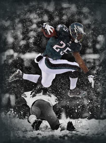 Lesean Mccoy Snow Wallpaper Philadelphia Eagles | ...