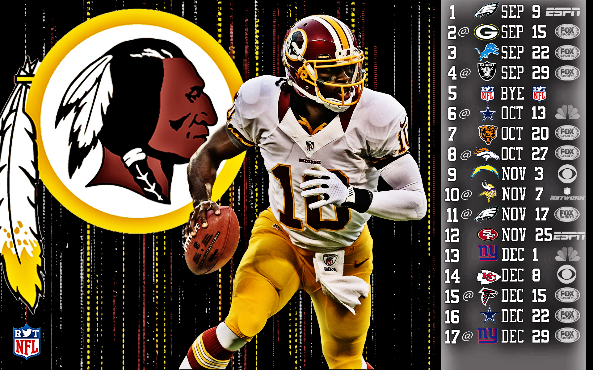 Robert Griffin Wallpaper Rg3 2013 Schedule Hdr