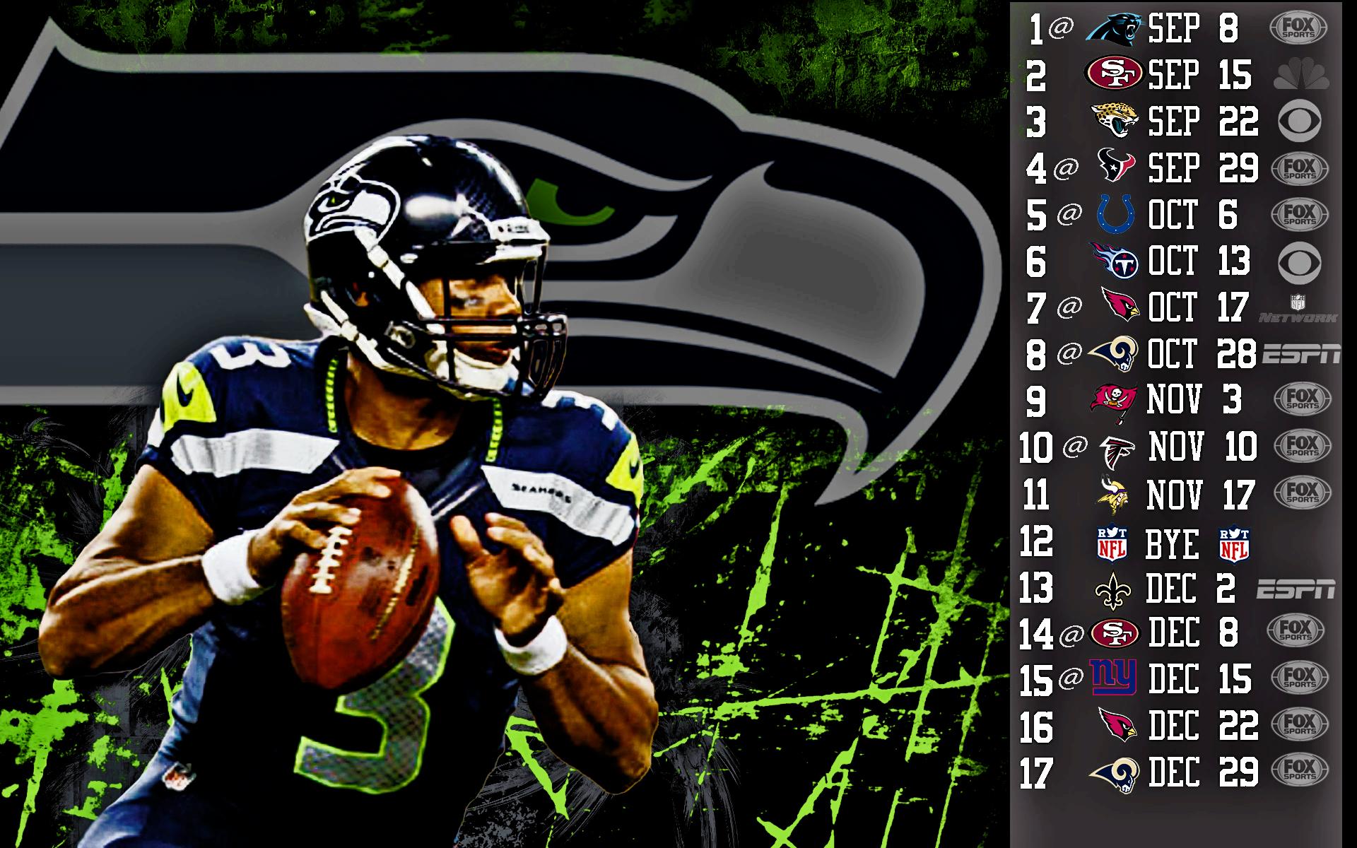 Russell Wilson Seahawks 2013